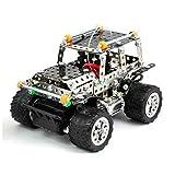 Coche Jeep Rc para Montar (306 Piezas) DIY | Kit de Construcción | Robótica | Juguetes para Niños