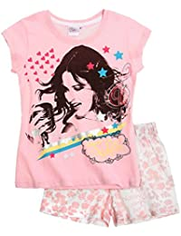 Pyjama court enfant fille Violetta Rose 12ans