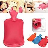 Bargain World Oficina en casa caliente de goma bolsa de agua caliente en invierno terapia calentadores bolsa de mano