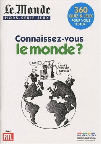 Le Monde, Hors-Série Jeux : Connaissez-vous le monde ?