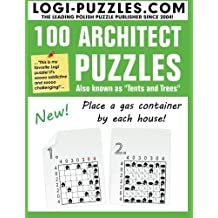 100 Architect Puzzles: Tents and Trees by LOGI Puzzles (2012-12-05)