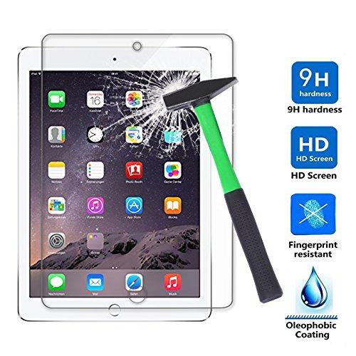iPad Air/ iPad Air 2/ iPad Pro 9.7 Displayschutz , Infiland Glass Folie Schutzfolie Glas Panzerfolie Displayschutzfolie für Apple iPad 5/ iPad Air, iPad 6/ iPad Air 2, iPad 7/ iPad Pro 9.7 (Tempered Glass)