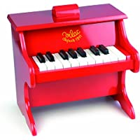 Vilac - Classic Kids Wooden Upright Piano with Scores