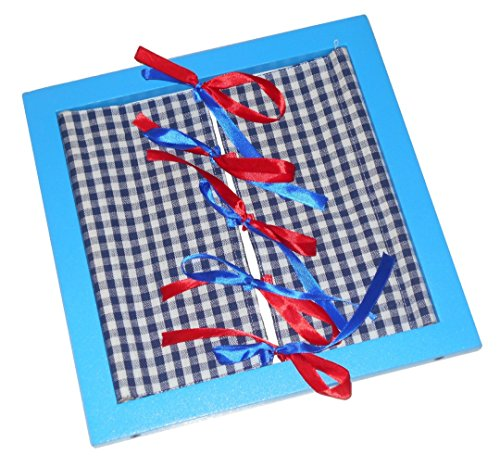 KIDO Toys Kido Montessori Materials Buttoning Frames Bow Tying Ribbon Frame