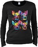 Chihuahua T-Shirt Frauen (Langarm)