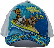 Paw Patrol Dogs Chase, Marshall and Rubble Gorra Catch The Waves Pups, Gorra de béisbol, Gorra Infantil, niñas