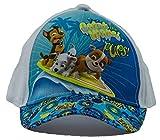 Paw Patrol Kappe, Baseball Cap, Schirmmütze für Kinder, Mädchen und Jungen, 100% Baumwolle mit Klettverschluss verstellbar (52, Weiß)