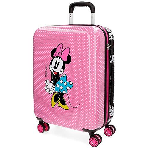 Disney Minnie Equipaje Infantil, 55 cm, 38 litros, Rosa
