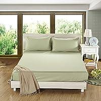 Lenzuola di cotone un pezzo semplice/ letto di cotone tinta