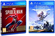 Marvel's Spider Man (PS4) - Game of the Year Edition (PS4) & Horizon: Zero Dawn - Complete Editi