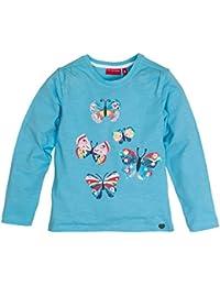 Salt & Pepper Longsleeve Smile Butterfly, Hauts à Manches Longues Fille
