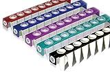 4titude 044873Streifen von 8PCR-Röhren, mit gewölbtem Kappen, verschiedene Farben (120Stück)