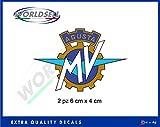 Adesivi Stickers logo MV AGUSTA F3 800 F4 750 1000 RR BRUTALE RIVALE STRADALE