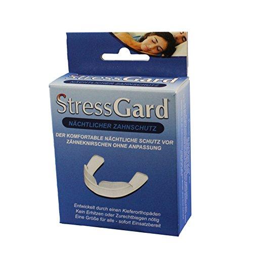 StressGard II Nächtlicher Zahnschutz, Aufbissschiene Gegen Bruxismus, Schutz Für Die Backen- und Schneidezähne