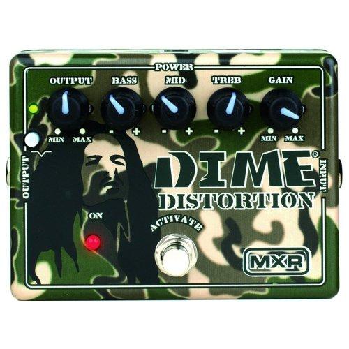 JIM DUNLOP MXR DD 11 DIME DISTORTION   PEDAL DE EFECTOS PARA GUITARRA (DISTORSI?N)