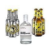 Berliner Brandstifter Gin (0,35l) & Thomas Henry + Aqua Monaco Set