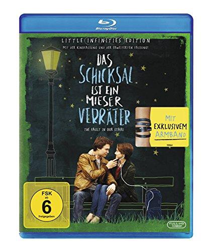 Bild von Das Schicksal ist ein mieser Verräter - Little Infinities Edition mit Armband (exklusiv bei Amazon.de) [Blu-ray] [Limited Edition]