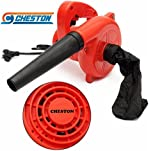 #10: Cheston CHB-20REDVACUUM 600 W Plastic Electric Air Blower Dust PC Cleaner (Red)