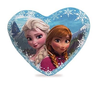 Disney Frozen - Cojin con Forma de Corazon de Frozen de FROZEN