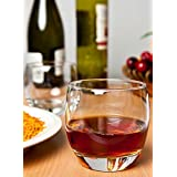 BS Imperial Round Barrel Scotch Glasses Set Of 6 Pc! Premium Whiskey Glass Set Of 6 Pc | Perfect For Whisky |Scotch | Bourbon | Cognac | Tequila | Liquor | 370 Ml Whiskey Glass