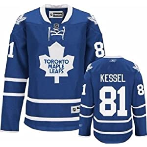 NHL Eishockey Trikot/Jersey Damen/Ladies/Women TORONTO MAPLE LEAFS Phil Kessel #81 blau in SMALL (S)
