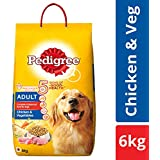 Pedigree Adult Dry Dog Food, Chicken & Vegetables – 6 kg Pack