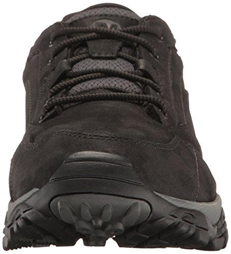 Merrell Moab Adventure Lace Waterproof, Chaussures de Randonnée Basses Homme Noir (Black)