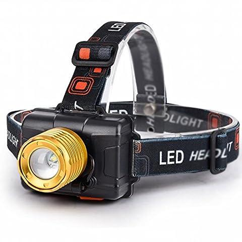 Led-Leuchten Induktions-Scheinwerfer Können Verstärker Brennweite Usb Wiederaufladbare Langstrecken-Super-Helle Fischen Lichter Kopf Tragen,Sensor-Scheinwerfer (eingebaute Batterie) + Ladeleitung