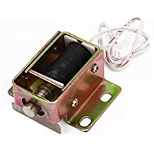 WEONE File Cabinet puerta eléctrica de bloqueo conjunto de solenoide de DC 12V 0.6A TFS-A32 cilíndrico pestillo conveniente Ahorro de Energía