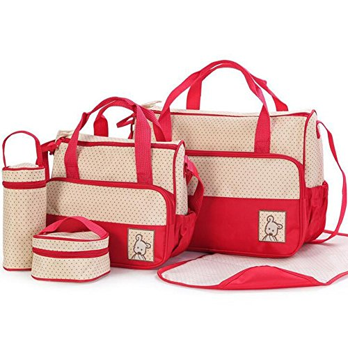 5-pieces-multi-function-baby-diaper-bag-nappy-changing-pad-travel-mummy-mother-bag-tote-handbag-nurs
