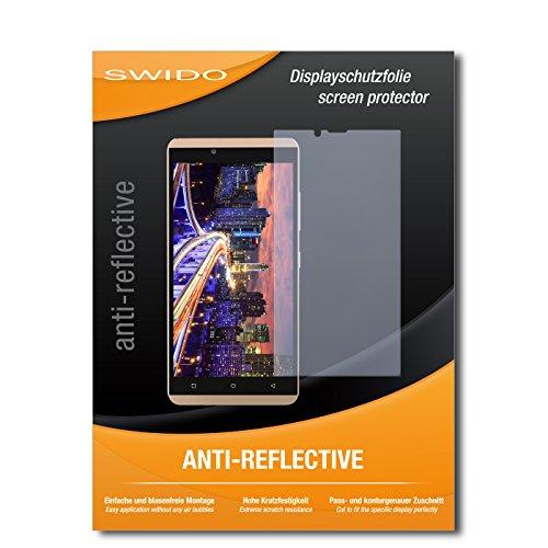 SWIDO Schutzfolie für BLU Vivo XL [2 Stück] Anti-Reflex MATT Entspiegelnd, Hoher Härtegrad, Schutz vor Kratzer/Bildschirmschutz, Bildschirmschutzfolie, Panzerglas-Folie