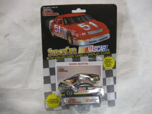 nascar-60-mark-martin-winn-dixie-racing-team-stock-car-with-drivers-collectors-card-and-display-stan
