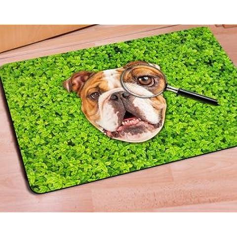 Jia&md Naturale gomma/soft/insapore/tappeto/moquette/3D/40 * 60 cm/ambientale protezione/lavabile/Anti-scivolo , hb0271u