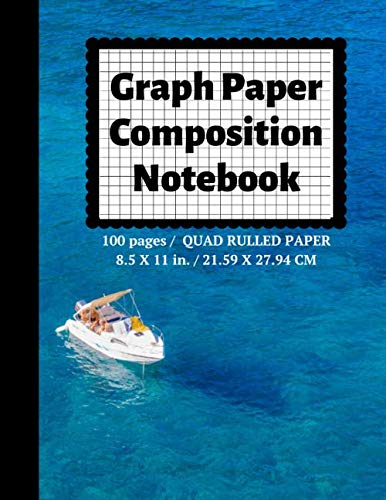 Graph Paper Composition Notebook: Grid Paper Notebook, Quad Ruled, 100 Sheets (Large, 8.5 x 11) (Graph Paper Notebooks, Band 84) (Notebook Quadrille Ruled)