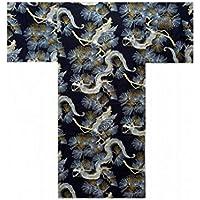 Autenticos Yukata Samurai / Frescos y Atractivos Kimono- Dragon y Halcon #890