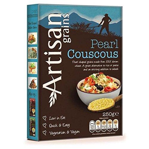 Grains Artisanaux Perles Couscous 250G - Paquet de 2