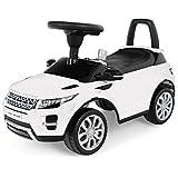 348B Range Rover EVOQUE Rutscher Babyrutscher Kinderfahrzeug Kinder Auto Musik (Weiss)