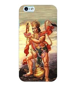 ColourCraft Lord Hanuman Design Back Case Cover for APPLE IPHONE 6