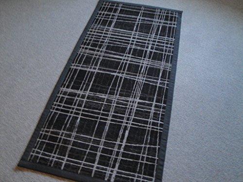 Teppich Vicenza in Schwarz Teppichgröße: 70 x 140 cm - Schwarz Persian Rug