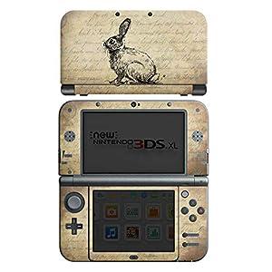 DeinDesign Skin kompatibel mit Nintendo New 3DS XL Folie Sticker Tiere Vintage Frühling