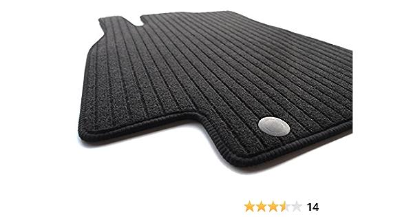 Kh Teile Fußmatten Rips Automatten Original Qualität Ripsmatten Fahrermatte Schwarz Auto