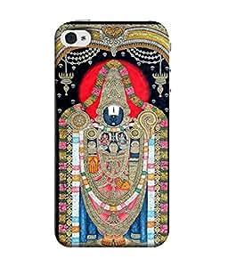 PrintVisa Designer Back Case Cover for Apple iPhone 4 (shyam baba khatushyam)