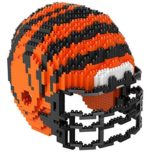 Forever Collectibles NFL Mini brxlz Helm Bausteine, Unisex, PZNF3DHLMCIB, Cincinnati Bengals, Einheitsgröße