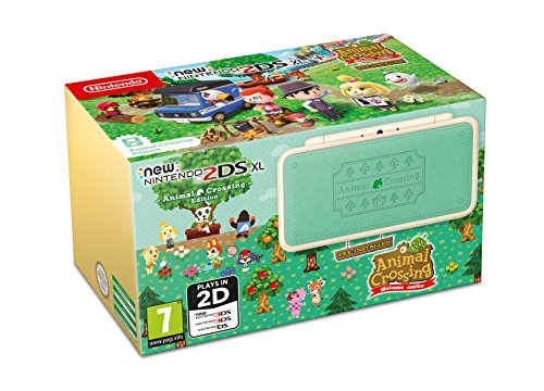 New Nintendo 2DS XL Animal Crossing Edition + Animal Crossing: New Leaf - Welcome amiibo (Nintendo Ds Spiel-bundle)
