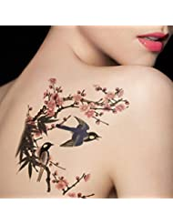 Flower temporary tattoos beauty for Fake tattoos amazon