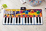 Global Gizmos Giant Keyboard Music Game Playmat ~ Kids, Fun ~ Interactive, Sounds ~ 52490