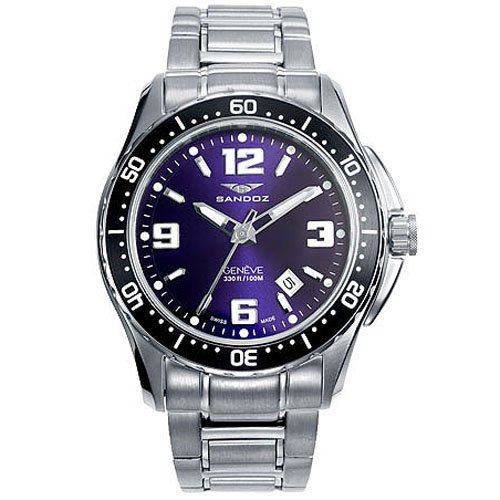 Montre Sandoz The Race 81327-53 Homme Bleu