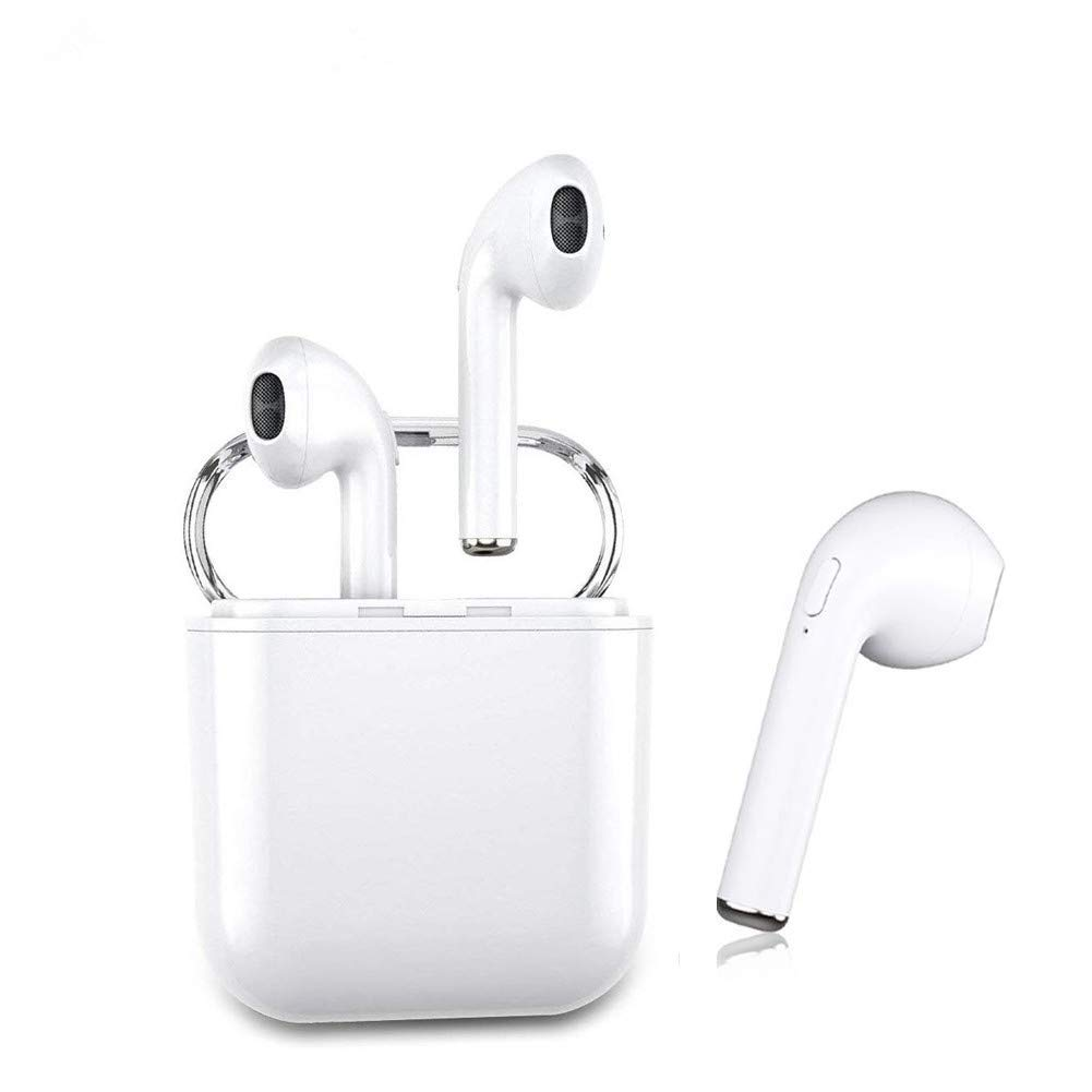 Auriculares inalámbricos Bluetooth Bluetooth 5.0 Auriculares Bluetooth Verdaderos Sonido estéreo Auriculares inalámbricos Micrófono Incorporado para iPhone6/6p,7/7p,8/8p,Samsung