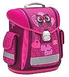 Belmil Ergonomischer Schulranzen Groß Mädchen Grundschule 1, 2, 3 Klasse Eule Owl/Pink, Rosa (404-5 She is Cool)