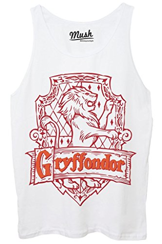 Canotta GRIFFYNDOR HARRY POTTER - FILM by MUSH Dress Your Style - Donna-M-BIANCA
